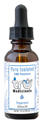 Pure Isolated CBD Tincture