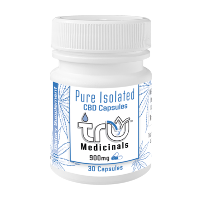 Pure Isolated CBD Capsules