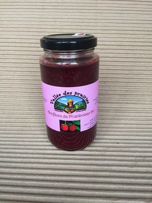 Confiture de framboises bio 250 ml