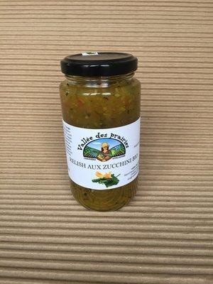 Relish aux zucchini 250 ml