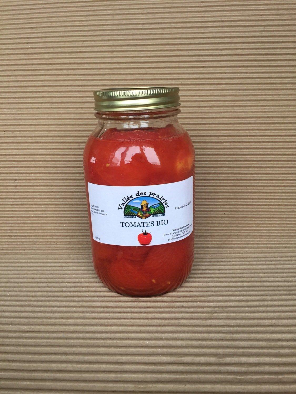 Tomates en conserve bio 1 litre