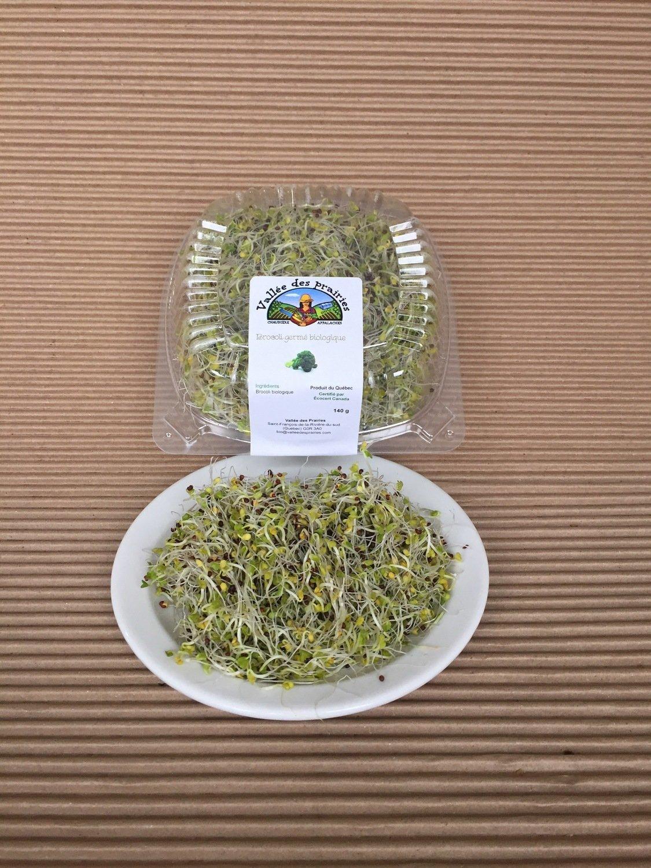 Germination de brocoli bio 140 g