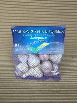 Bulbe d'ail bio 200 g