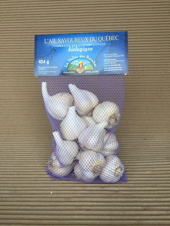 Bulbe d'ail bio 454 g
