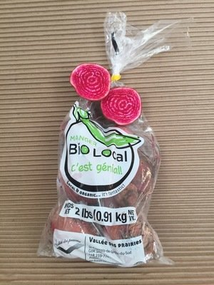 Radis rose (melon d'eau) bio 1 lb