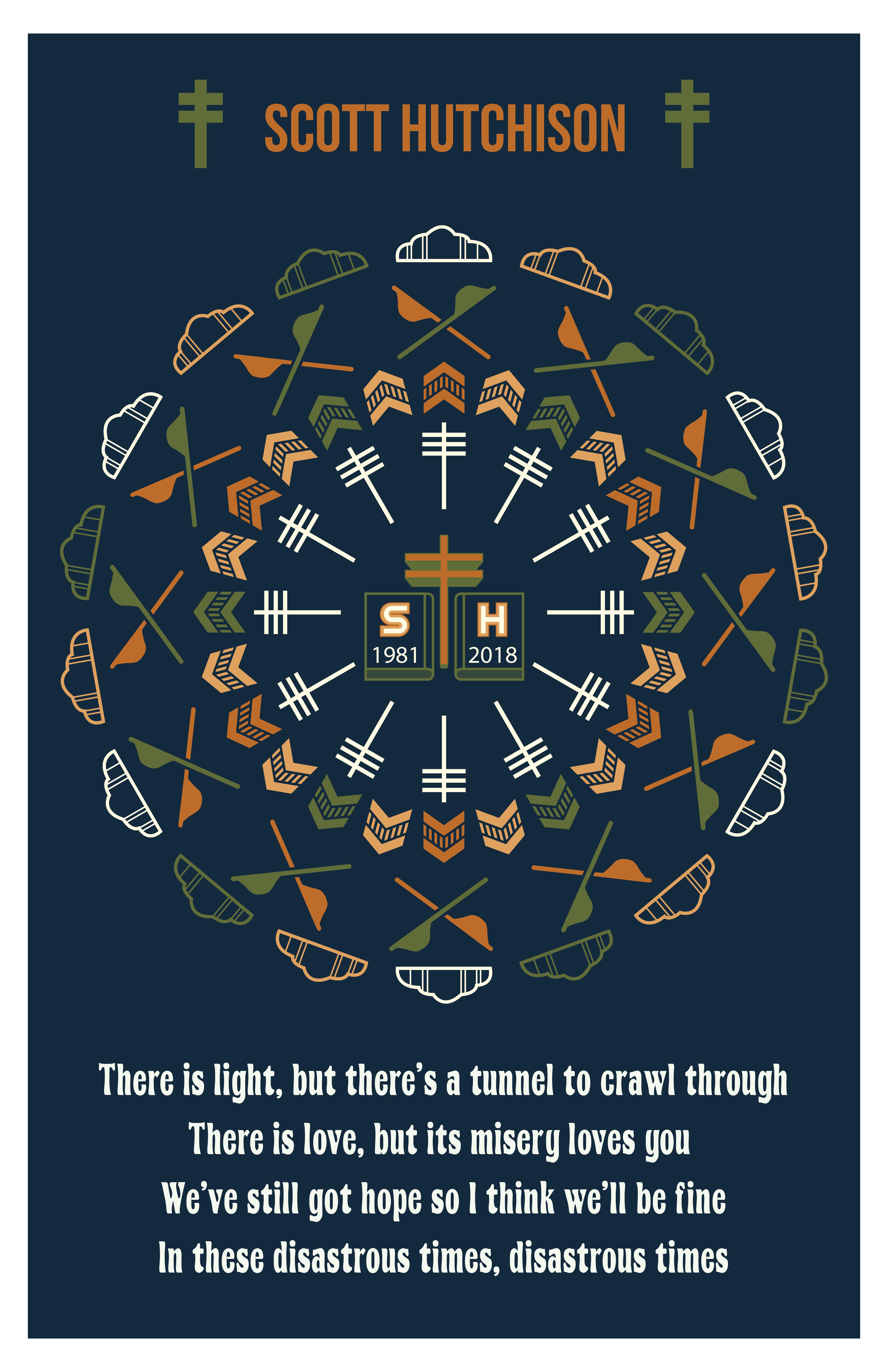 Oil Slick Mandala Poster 00016
