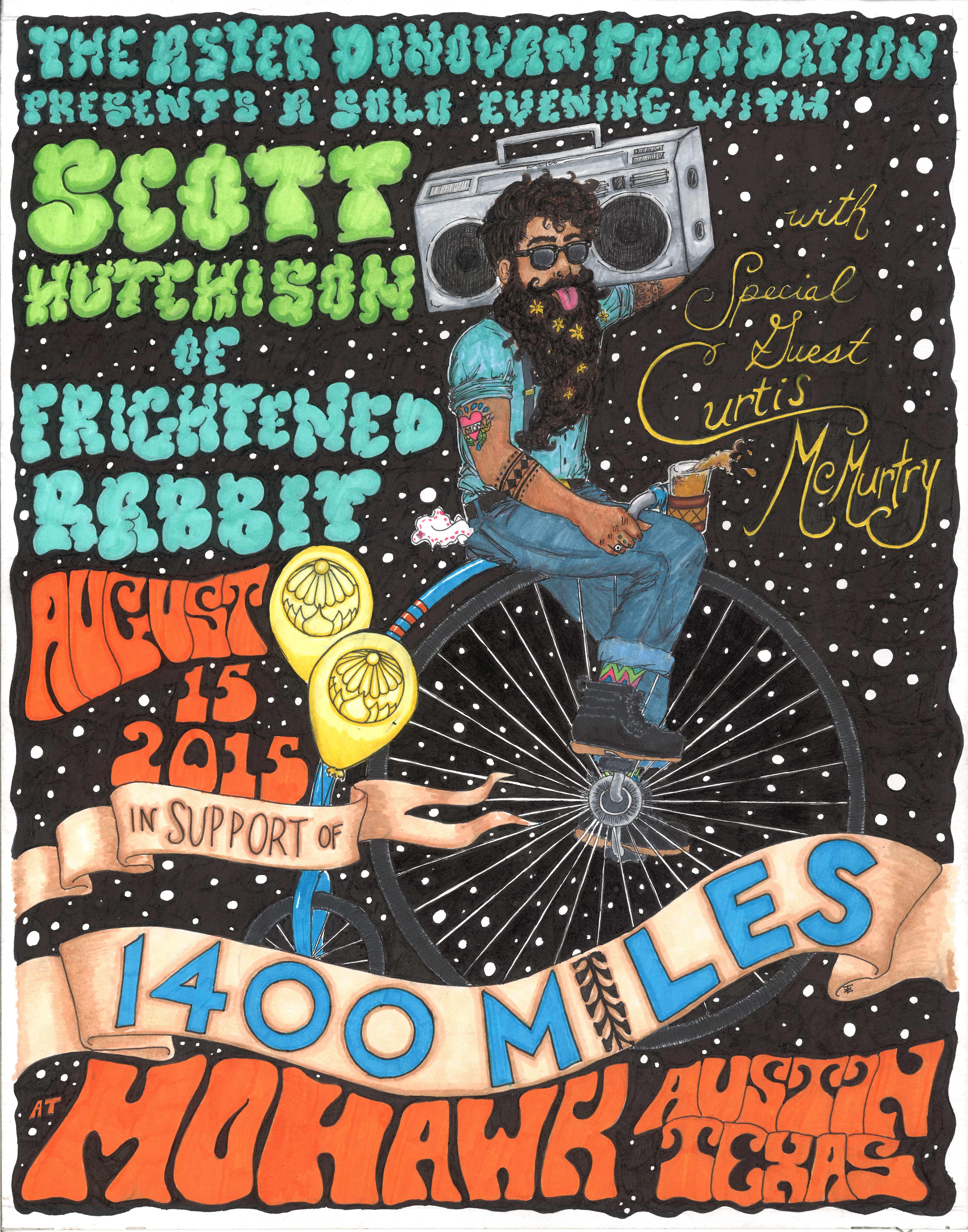 2015 ADF Benefit Poster - Featuring Scott Hutchison and Curtis McMurtry 00025