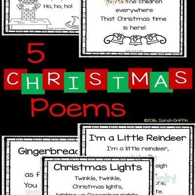Children Christmas Poem.5 Christmas Poems For Kids