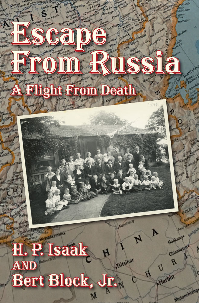 Escape from Russia: A flight from death 00001