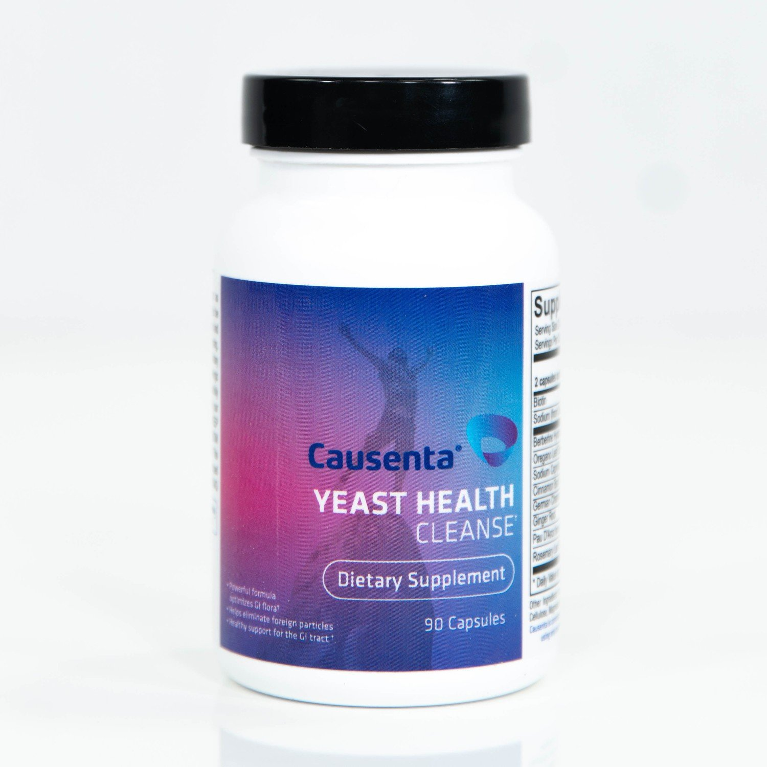 Yeast Health Cleanse - Berberine, Oregano and Ginger