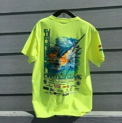 36th Annual Pirates Cove Billfish Tournament T-Shirt