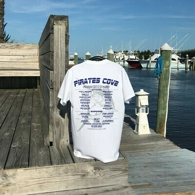 2019 Fishing Fleet Short Sleeve T-Shirt