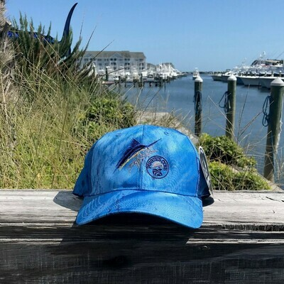 Real Tree Fishing Hat with Scratchy Marlin Logo