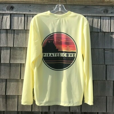 Sunset Charter Long Sleeve Performance Tee