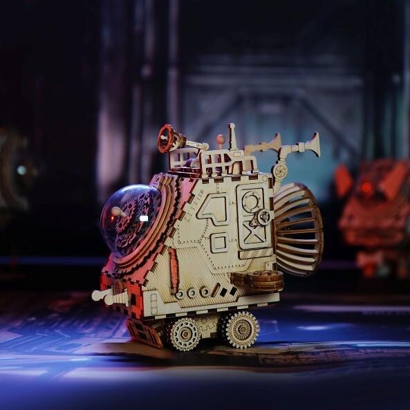 Стимпанк шкатулка Космический Корабль