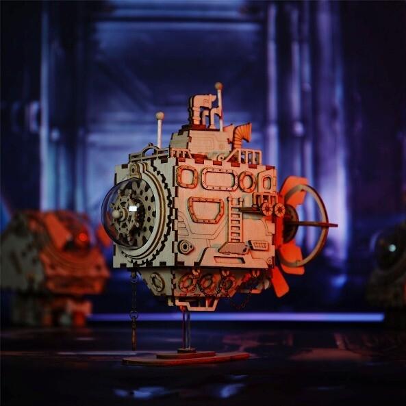 Стимпанк шкатулка Подводная Лодка