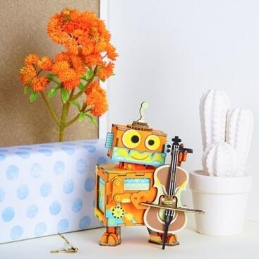 Музыкальная шкатулка Маленький музыкант