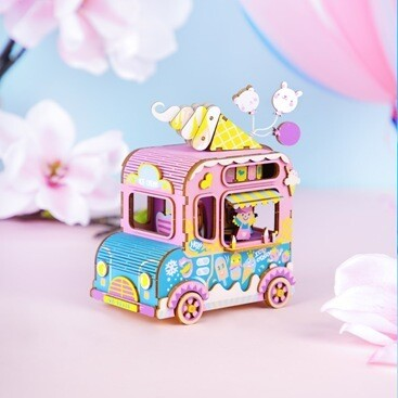 """Музыкальная шкатулка Фургончик с мороженным"""""""