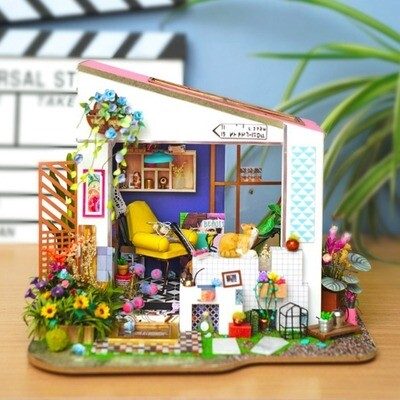 Robotime DIY House Miniature Lily's Porch DG11