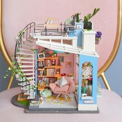 Robotime DIY House Miniature Dora's Loft DG12