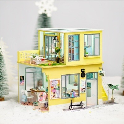 Robotime DIY House Miniature TD01W Time Studio