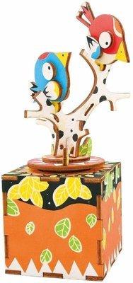 Музыкальная шкатулка Песня птицы и дерева