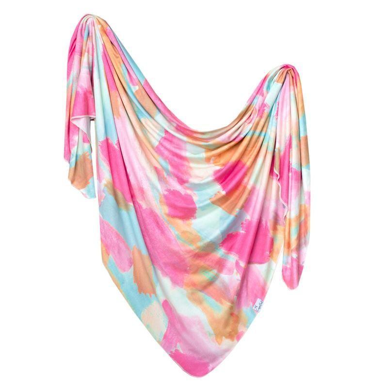 Knit Blanket-Monet