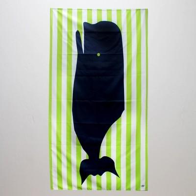 Kid's Microfiber Whale Towel