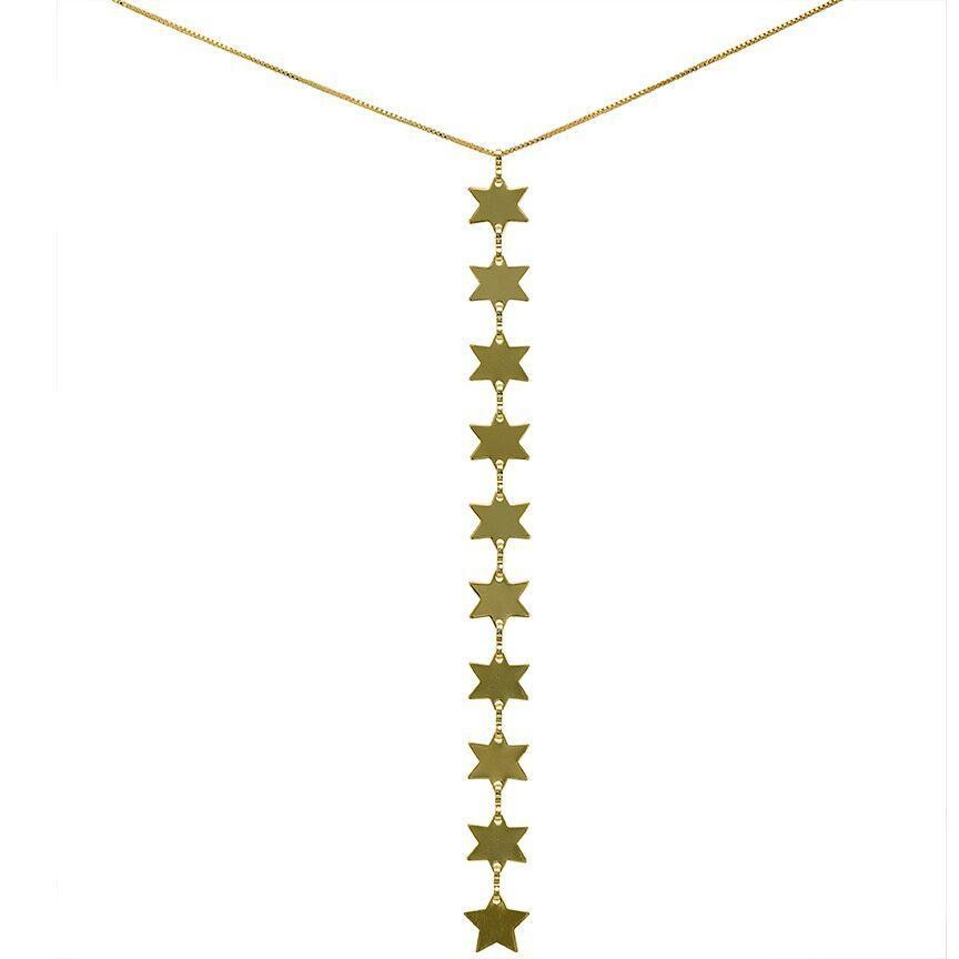 Rigel 8 Stars Necklace
