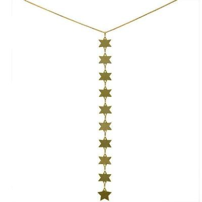 Rigel 8 Stars Necklace
