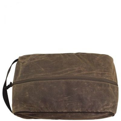 Distressed Travel Shoe Bag