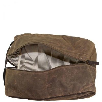 Distressed Travel Shoe Bag
