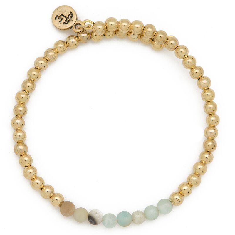 """FIND YOUR INNER STRENGTH"" Gemstone Bracelet"