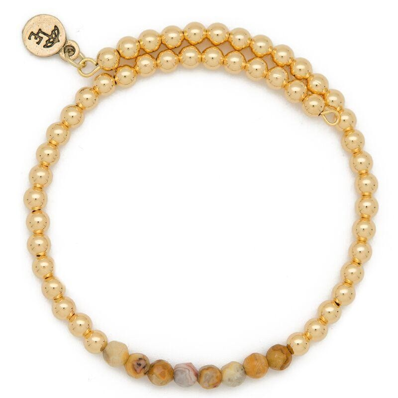 """CHOOSE JOY"" Gemstone Bracelet"