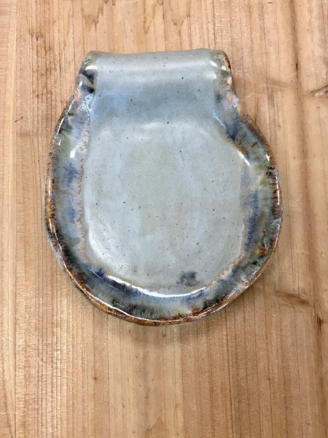 Light Blue Spoon Rest