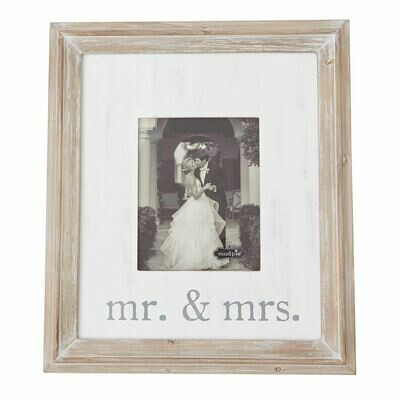 Mr. & Mrs. Large Wood Frame