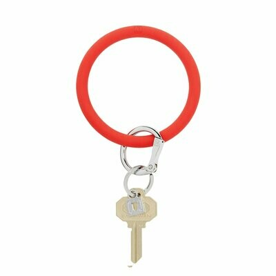 Cherry Silicone Key Ring