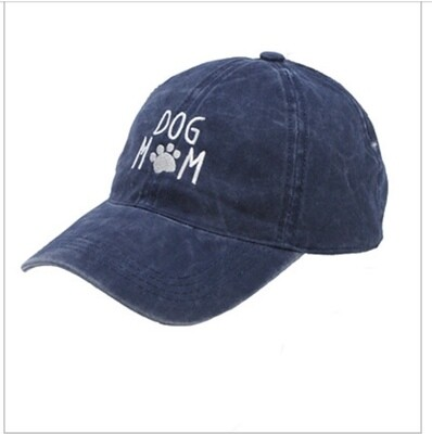 Dog Mom-Navy