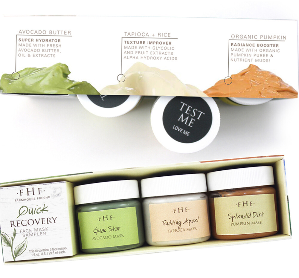 Quick Recovery Face Mask Set