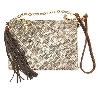 Envelope Crossbody Basket Weave