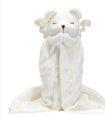 Prayer Bear Mini Blanket