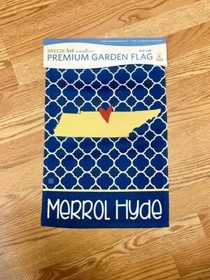 Merrol Hyde Garden Flag