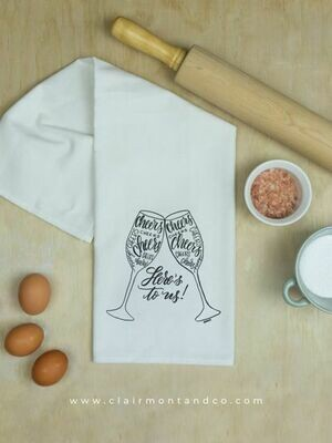 Cheers Tea Towel