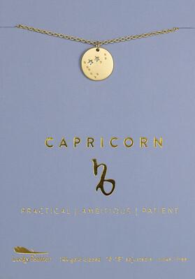 Capricorn Necklace (Dec 22-Jan 19)
