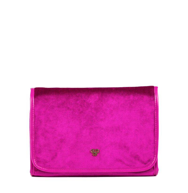 Getaway Toiletry Case-Velvet Fuchsia