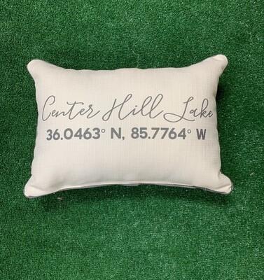 Center Hill Lake Pillow