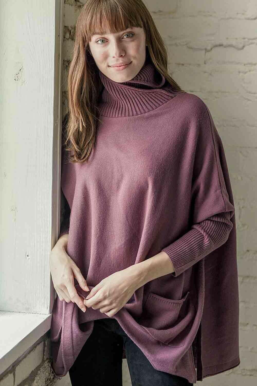 Mer-Sea Newport Travel Sweater-Mauve