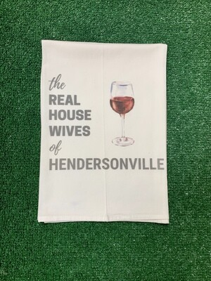 Real Housewives of Hendersonville Kitchen Towel