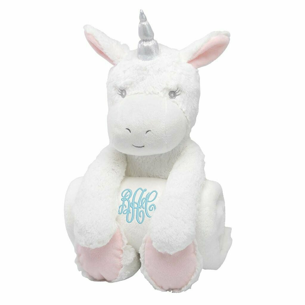 Unicorn Bedtime Huggie with Blanket