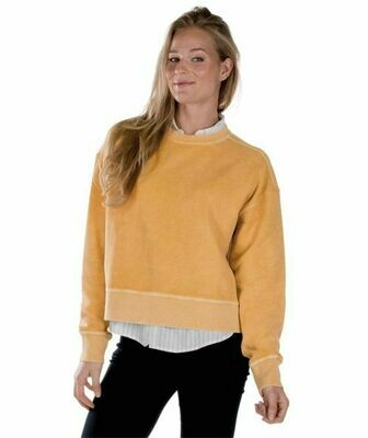 Honey Cropped Crew Sweatshirt